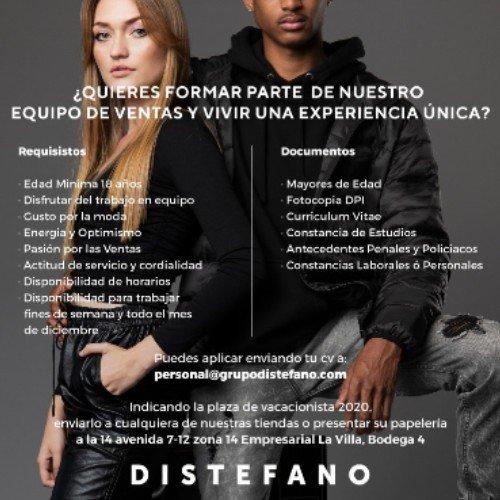 empleo-2020-empresas-ofrecen-trabajo-permanente-guatemala-vacacionistas-distefano