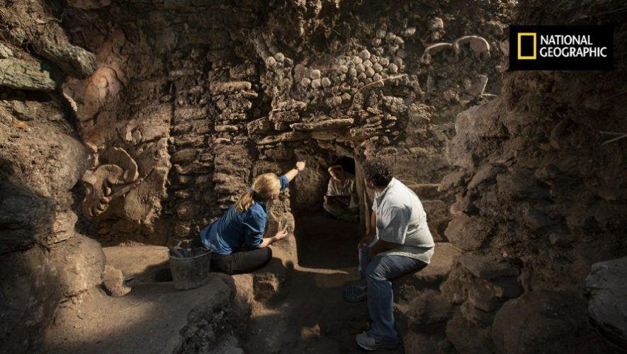 nat-geo-compartio-descubrimiento-bano-vapor-diosa-anfibia-maya-guatemala-xultun-peten