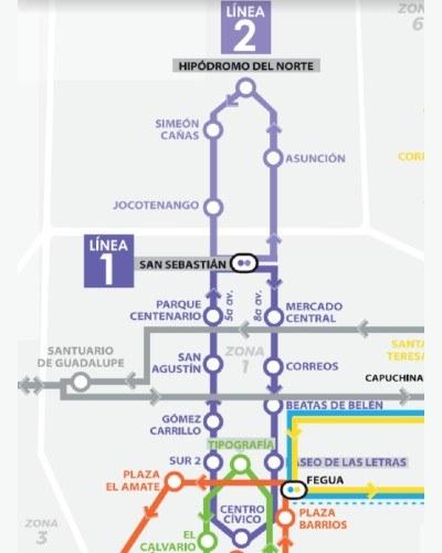 rutas-horarios--funcionan-lineas-transmetro-ciudad-guatemala-linea1-linea2