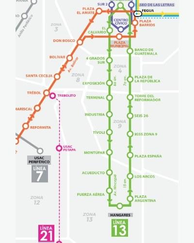 rutas-horarios--funcionan-lineas-transmetro-ciudad-guatemala-linea13