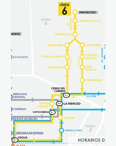 rutas-horarios--funcionan-lineas-transmetro-ciudad-guatemala-linea6