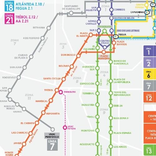 rutas-horarios--funcionan-lineas-transmetro-ciudad-guatemala-linea7