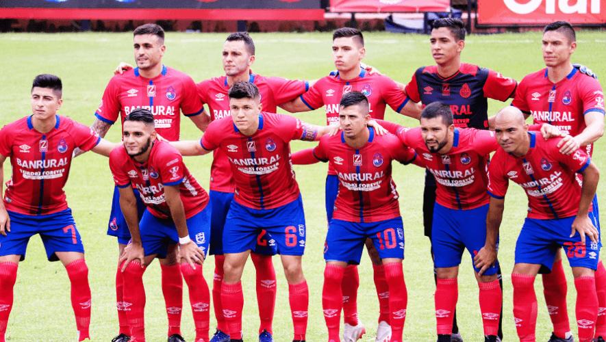 Alineación del CSD Municipal para el partido vs. Saprissa, Liga Concacaf 2020