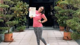 Ana Sofía Gómez obtuvo diploma de Técnico Universitario en Ciencia y Tecnología del Deporte
