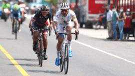 Brayan Ríos fue el guatemalteco más rápido de la 60 Vuelta Ciclística 2020