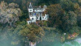 Castillo Dorión, un sitio abandonado en el Lago de Amatitlán