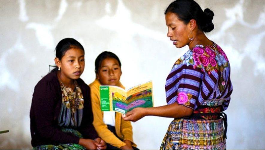 Curso gratuito de idiomas mayas para niños y jóvenes en Guatemala 2020