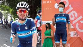 Dorian Monterroso ganó tercer lugar en la Etapa 1 de la Vuelta al Chiriquí 2020