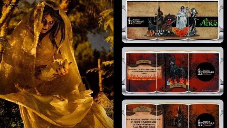 El Duende del Ático creó línea de productos inspirados en las leyendas guatemaltecas