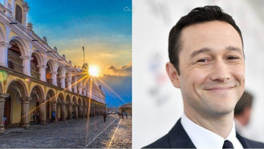 El actor estadounidense Joseph Gordon-Levitt busca fotos de Guatemala para proyecto