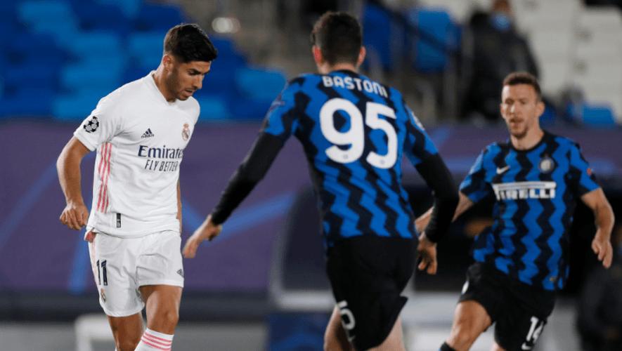 En vivo: Partido Inter de Milán vs. Real Madrid, UEFA Champions League | Noviembre 2020