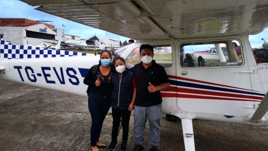 Exhibición de aviones para recolectar víveres, depresión tropical ETA | Noviembre 2020