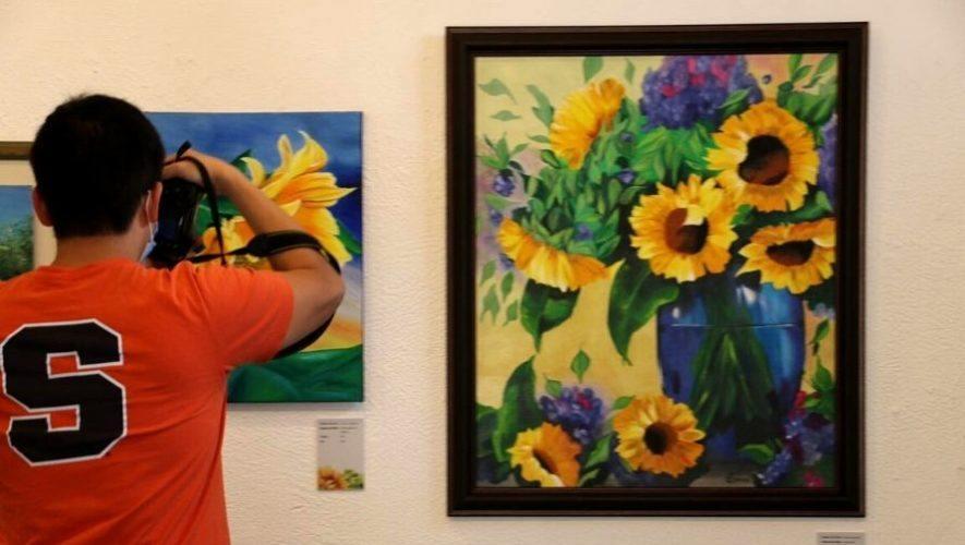 Exposición de arte dedicada al girasol, Festival de las Flores de Antigua Guatemala | Noviembre 2020