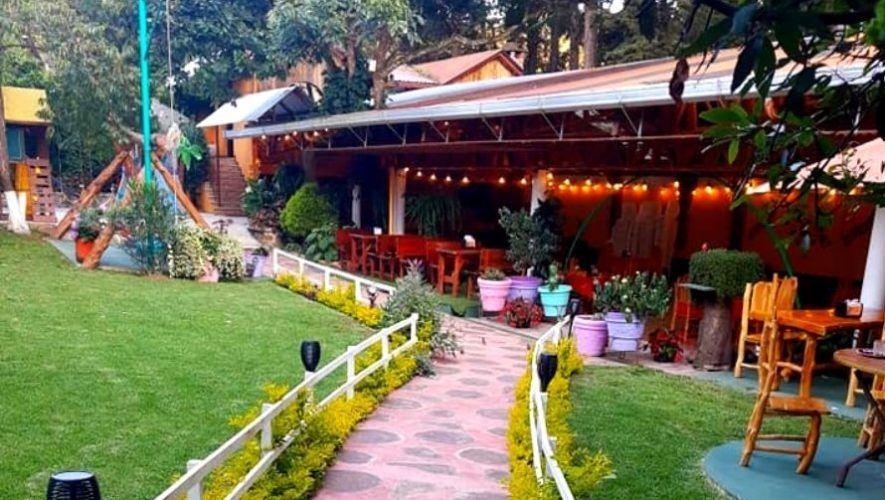 Restaurante La Galerita en San Lucas Sacatepéquez