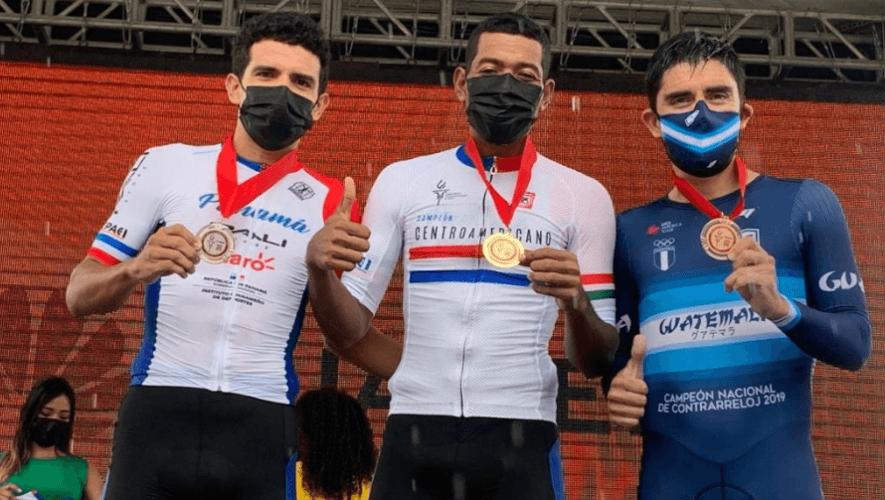 Guatemala ganó 2 medallas en la contrarreloj del Campeonato Centroamericano de Ruta 2020