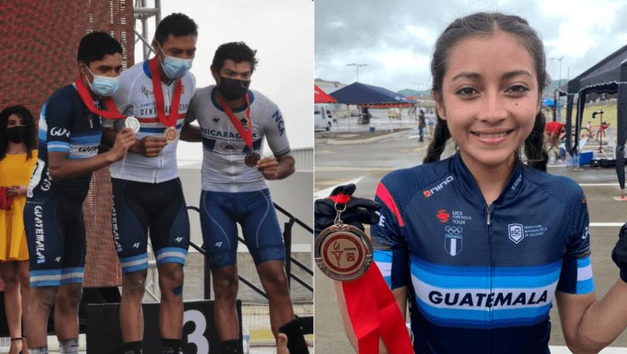 Guatemala ganó 4 medallas más en el cierre del Campeonato Centroamericano de Ruta 2020
