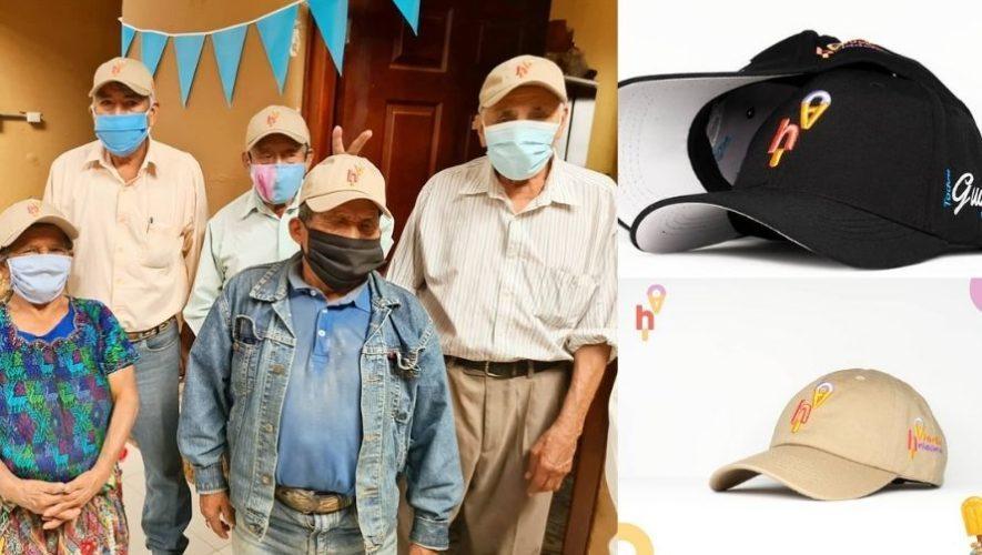 Iniciativa creó colección de gorras y calendarios para ayudar a Abuelitos Heladeros