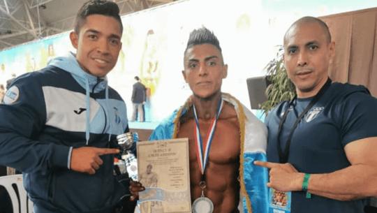Jorge Patzán ganó plata en el IFBB World Championship Bodybuilding Fitness & Master 2020