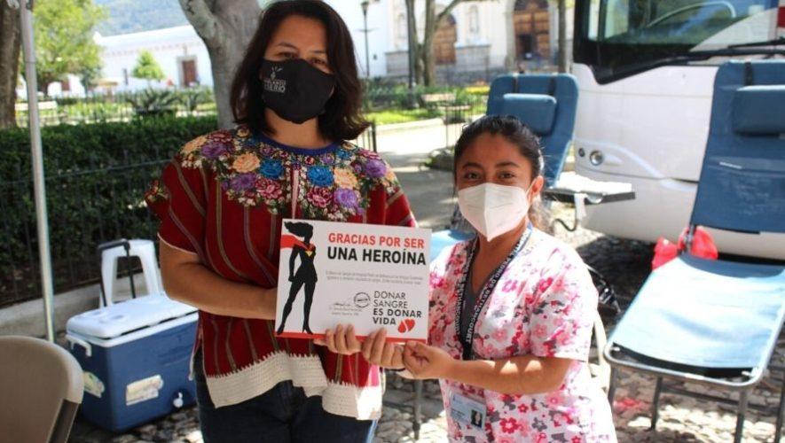 Jornada de donación de sangre en Antigua Guatemala | Noviembre 2020