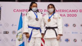Keilly Esteban ganó medalla de plata en el Campeonato Panamericano Cadetes y Junior 2020