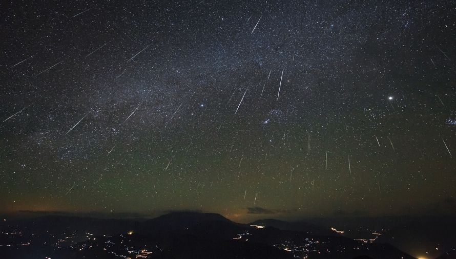 Lluvia de meteoros de las Leónidas Noviembre 2020