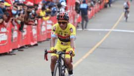 Mardoqueo Vásquez, campeón de la 60 Vuelta Ciclística a Guatemala 2020
