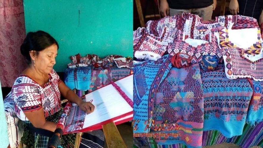 Margarita Lobo Ajín, la tejedora originaria de Escuintla que ganó la Palmera de Jade