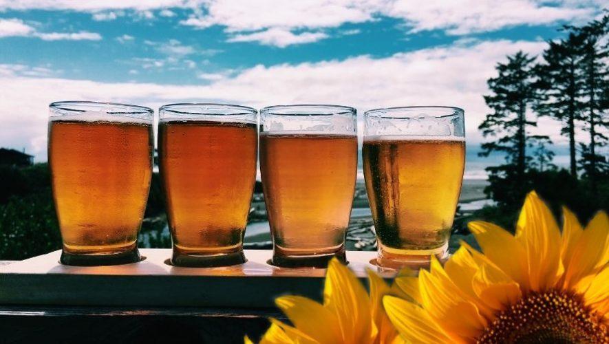 Maridaje de cervezas y platillos gourmet con flores | Noviembre 2020