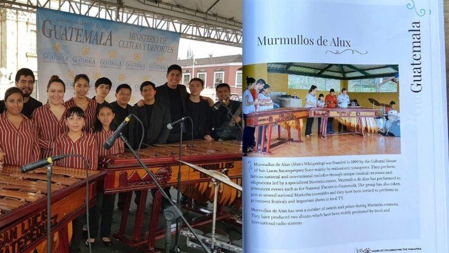 Marimba recibió reconocimiento de la Embajada de la India