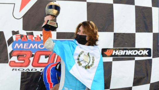 Mateo Llarena consiguió otro logro histórico al proclamarse campeón del Hankook 500