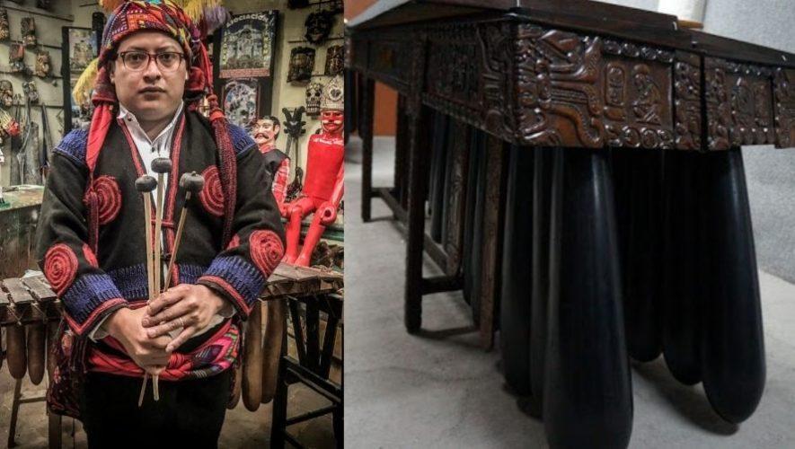 Miguel Ignacio, el guatemalteco que trabaja por la preservación de la marimba de tecomates