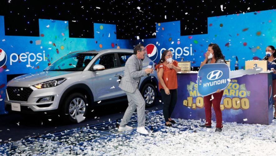 Miles de deseos fueron concedidos a guatemaltecos en el Sueldazo Millonario de Pepsi