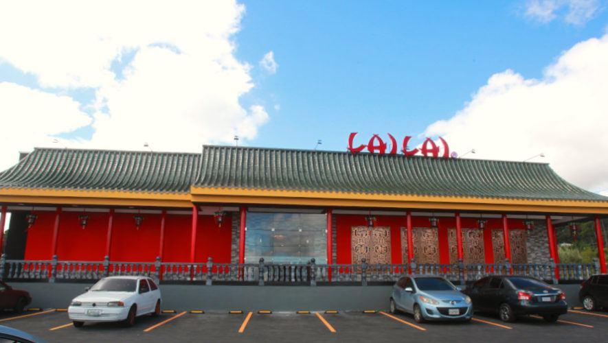 Nuevo restaurante Lai Lai Condado Naranjo, más cerca de los guatemaltecos