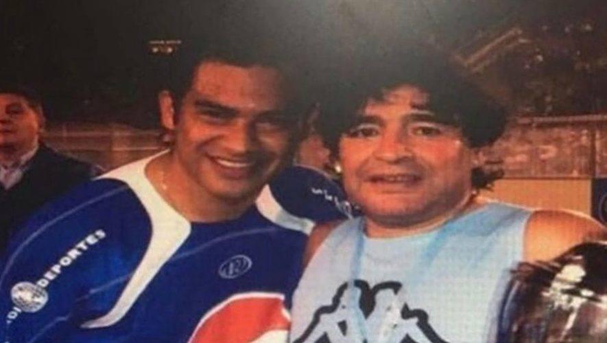Palabras de despedida del pescado Ruiz a Maradona - Foto @FishCr20