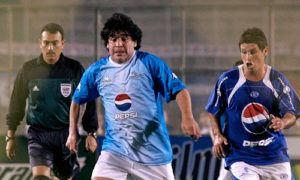 Palabras de despedida del pescado Ruiz a Maradona - Foto Fútbol Centroamérica