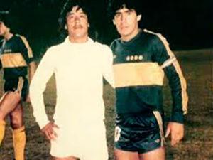 Palabras de despedida del pescado Ruiz a Maradona - Foto Guatefutbol