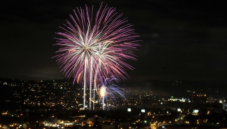 Show de Luces Campero en Guatemala Diciembre 2020