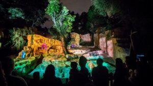 Shows de mapping en el Zoológico La Aurora | Diciembre 2020