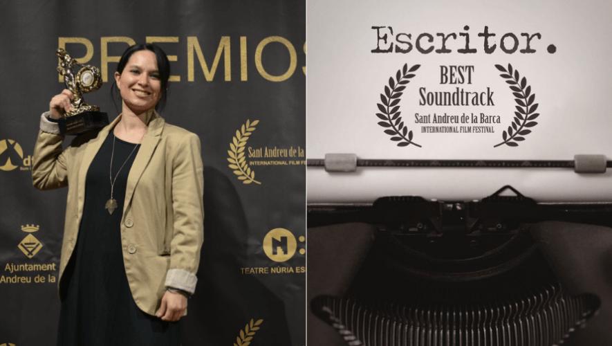 Sophie Kuba ganó un Premio Oriana en el Festival de cine de Sant Andreu de la Barca 2020 (2)