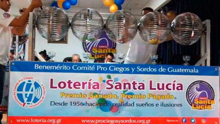 Sorteos ordinarios de 1 millón de quetzales, Lotería Santa Lucía | Noviembre - Diciembre 2020