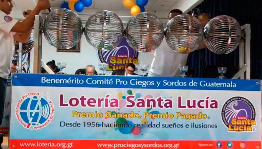 Sorteo ordinario de 1 millón de quetzales, Lotería Santa Lucía Diciembre 2020