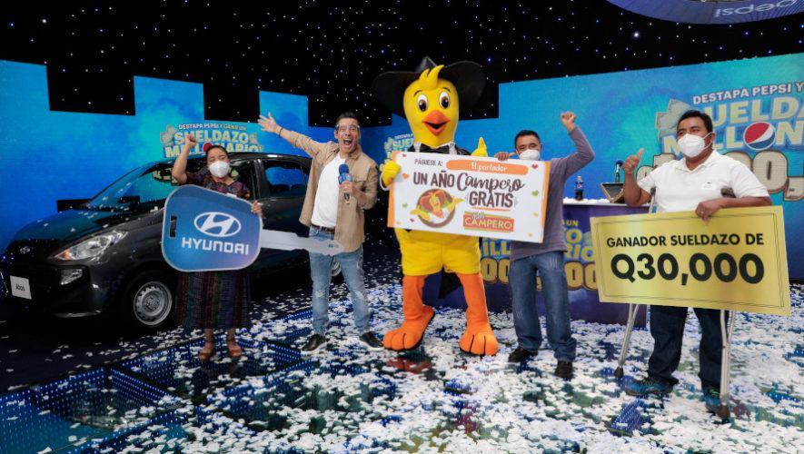 Sueldazo Millonario de Pepsi premiará a guatemaltecos este 2020