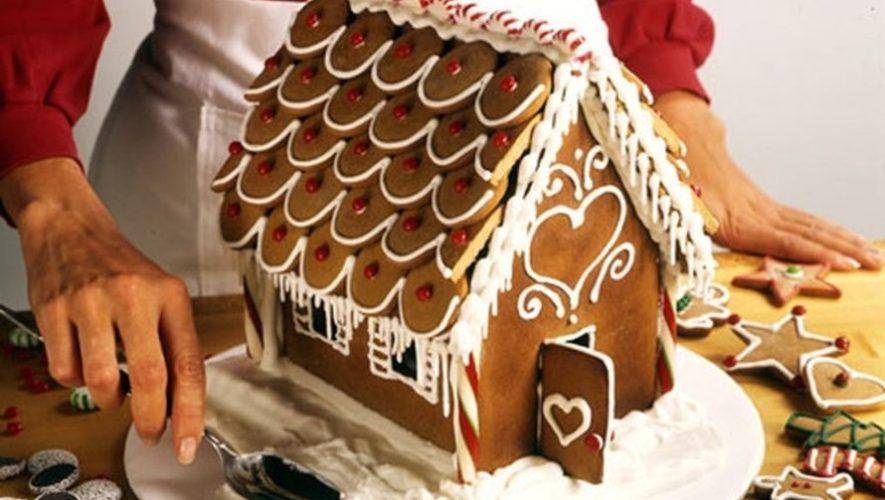 Taller gratuito de casitas de jengibre navideñas | Noviembre 2020