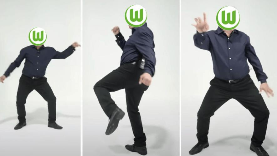 """VfL Wolfsburg celebró en redes sociales su invicto en la Bundesliga junto a """"Lobo"""" Vásquez"""