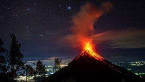 Viaje para observar la lluvia de estrellas en el Volcán Acatenango | Diciembre 2020