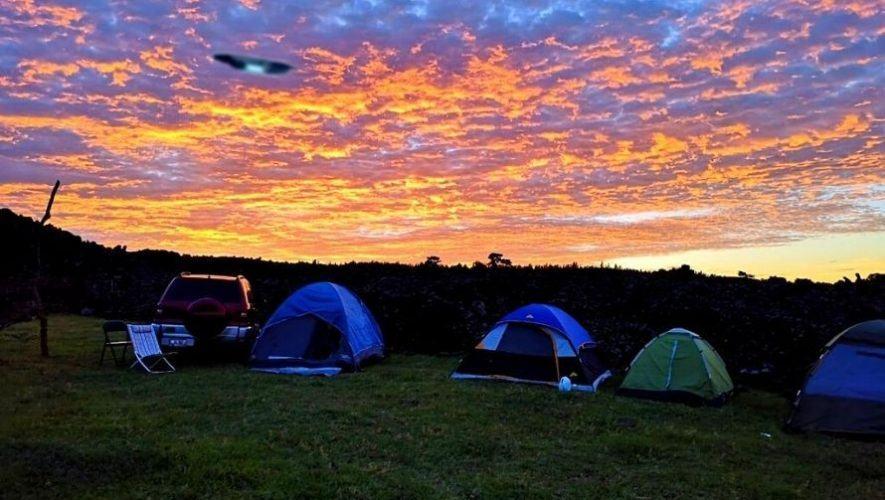 Viaje y campamento con personas interesadas en los ovnis | Diciembre 2020