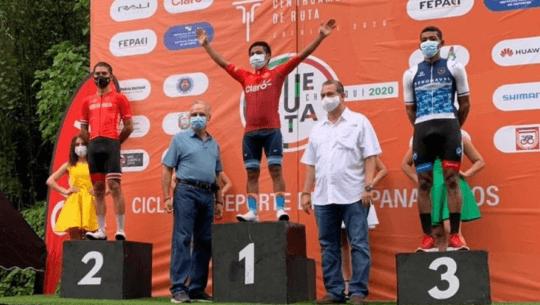 Vuelta al Chiriquí 2020 Mardoqueo Vásquez se llevó la victoria de la etapa 2