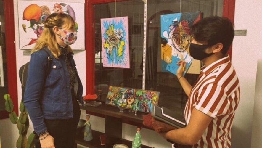 Yohan Juárez, el joven guatemalteco de 20 años que expone sus pinturas a España