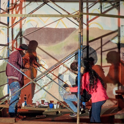 artistas-elaboraron-mural-palin-proyecto-latinoamericano-guatemaltecos-escuintla