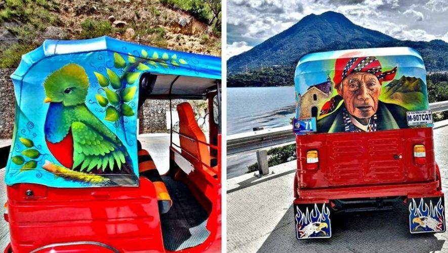 artistas-guatemaltecos-pintaron-colorido-tuc-tuc-san-juan-laguna-solola